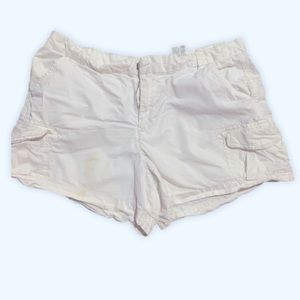 BOGO Free JOE Fresh white cargo shorts EUC